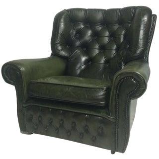 English Chesterfield Club Chair