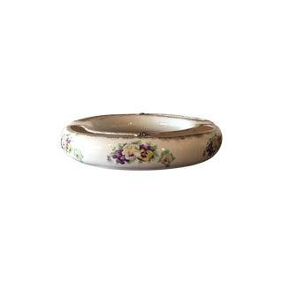 Porcelain Pansy Ring Vase