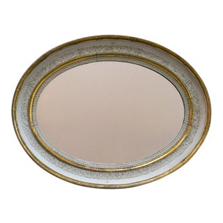 Oval Swedish Empire Mirror (#62-57)