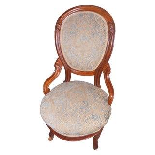Victorian Style Slipper Chair