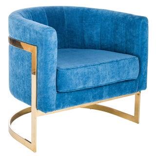 Mica Gold Club Chair
