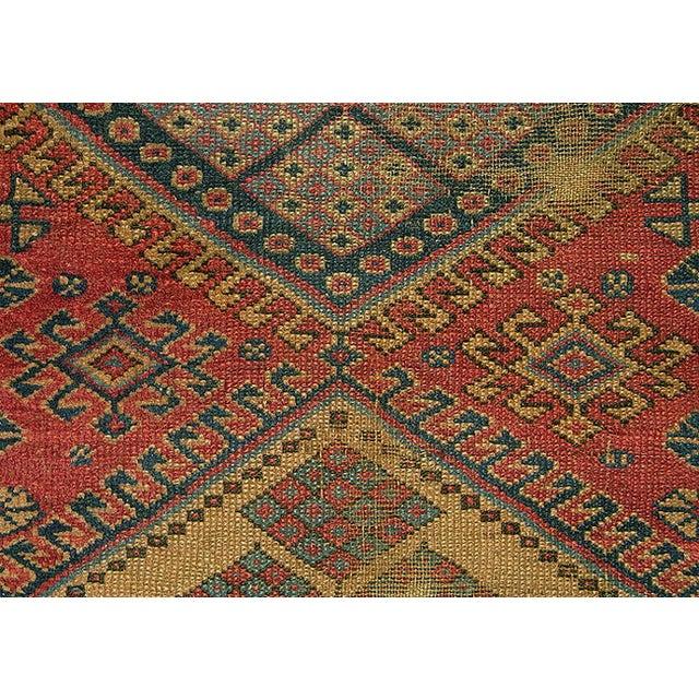 Old Caucasian Oriental Rug - 2′10″ × 3′11″ - Image 6 of 9