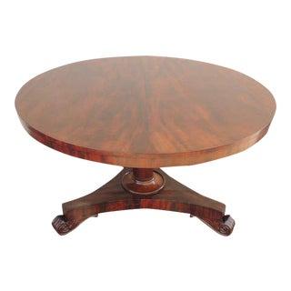 19th C Bajan Mahogany Breakfast Table