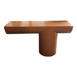 J Wade Beam console table for Brueton Cantilever style