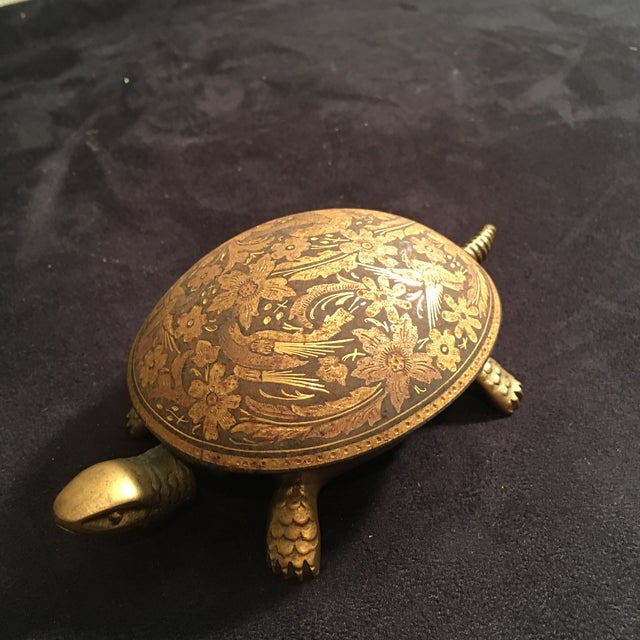 Antique Boj Eibar Bell Ring Service Turtle - Image 3 of 6