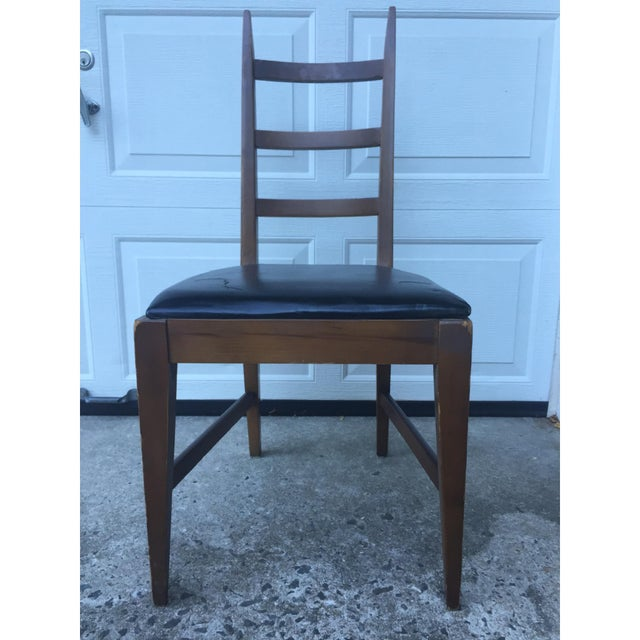 Mid-Century Ladder Back Side Chair - Image 3 of 10