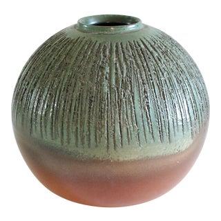Rustic Ball Vase