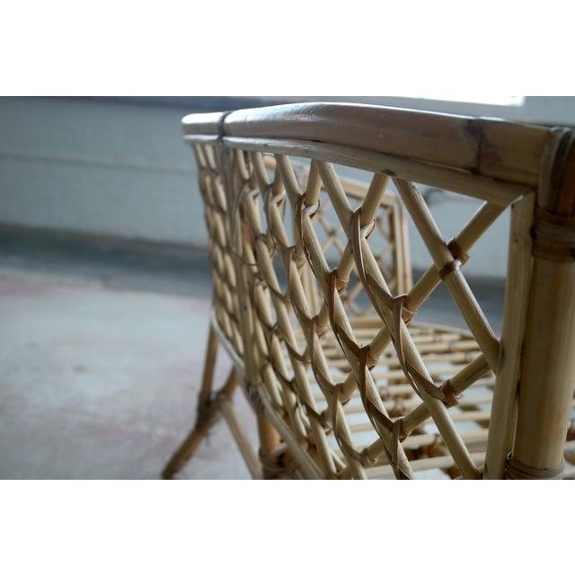 Mid-Century Danish Rattan Lounge Set - 3 - Image 10 of 10