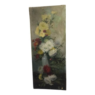 Vintage French Floral Still Life