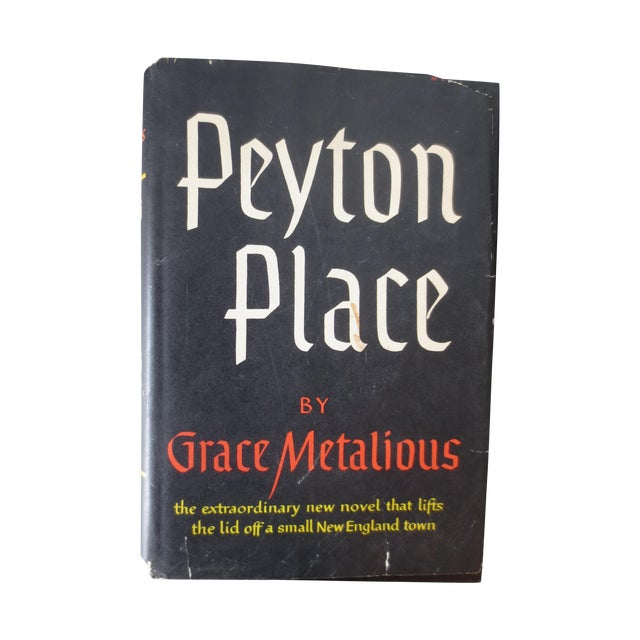Mid-Century 1956 Peyton Place, 1st BCE Book - Image 1 of 4