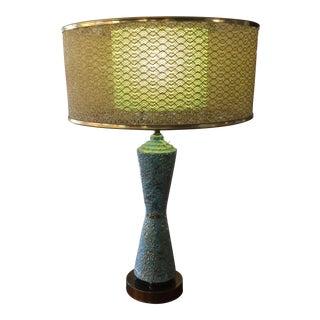Ceramic Atomic Mid-Century Lamp
