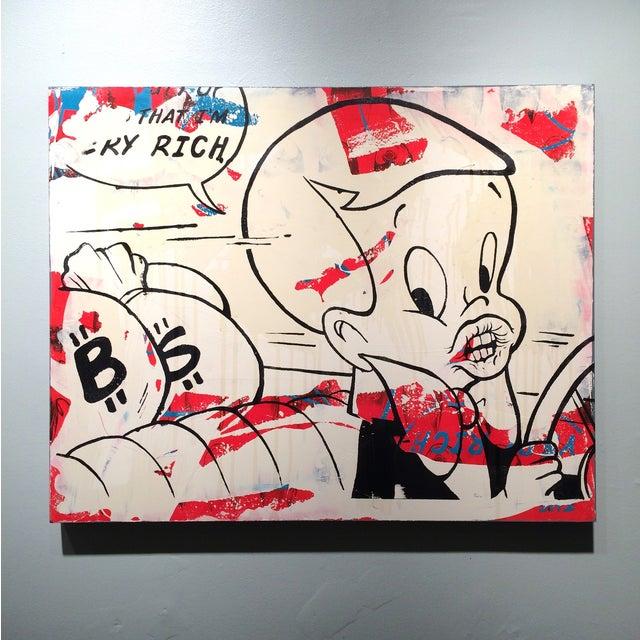'Very Rich #1-6' Silkscreens on Panel - Set of 6 - Image 4 of 10