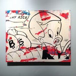 Image of 'Very Rich #1-6' Silkscreens on Panel - Set of 6