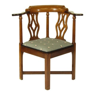 18th C. Roundabout Chair