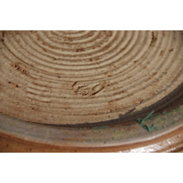 Mid-Century William Wyman Style Pottery Charger - Image 10 of 11