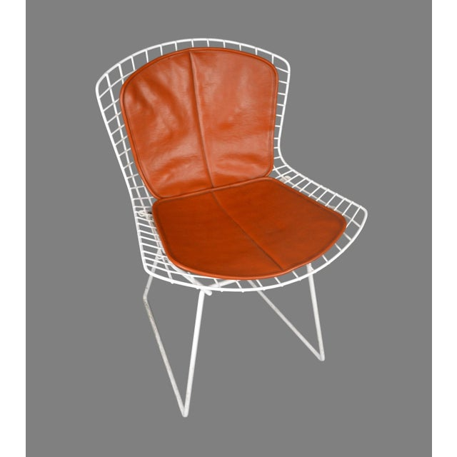Bertoia for Knoll Vintage White Chairs - Set of 4 - Image 3 of 8