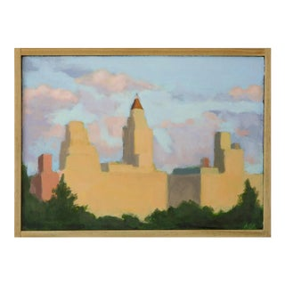'View from Central Park' Painting by Anne Carrozza Remick