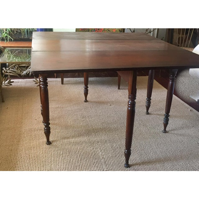 Antique Gate Leg Dining Table Console Table Chairish