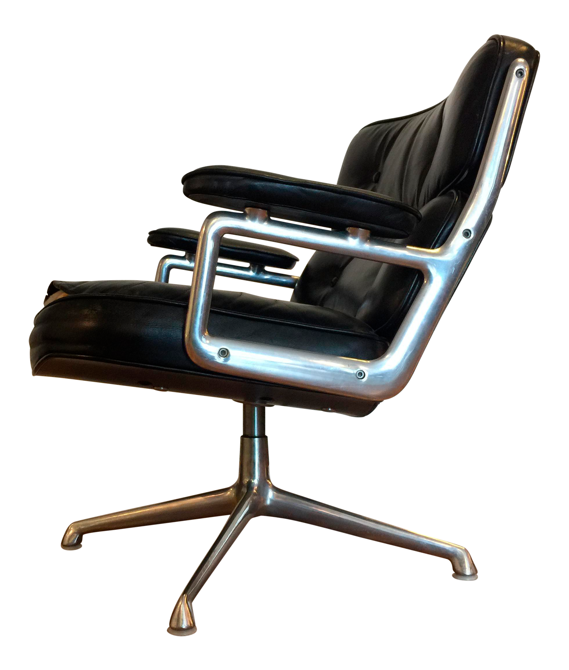 Vintage Eames for Herman Miller Time Life Leather Executive Chair
