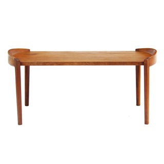 Jens Risom Walnut Tray Table