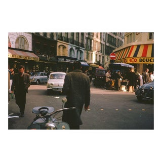 An Afternoon in Paris Vintage 35mm Film Slide Photograph (Circa 1960s)
