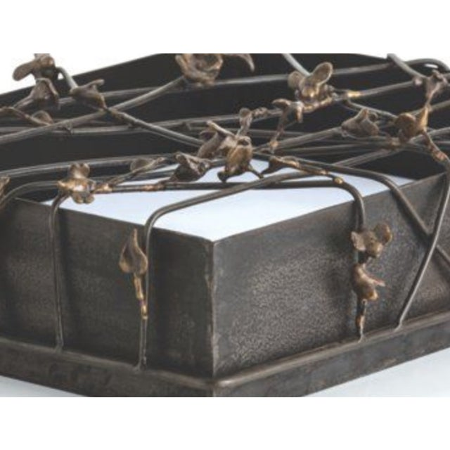 Butterfly Metal Iron Box - Image 3 of 4