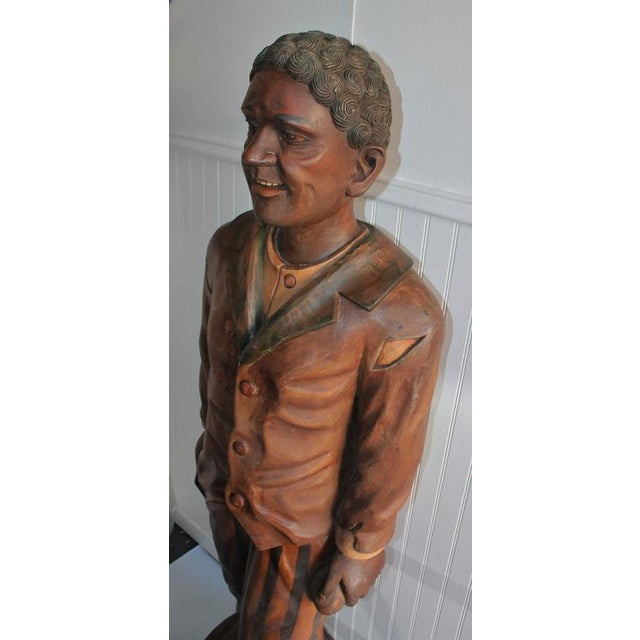 Hand-Carved and Painted 19th Century Cigar Store Figure - Image 3 of 10