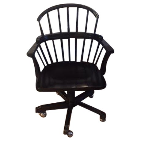Black Office Chair - Image 1 of 3