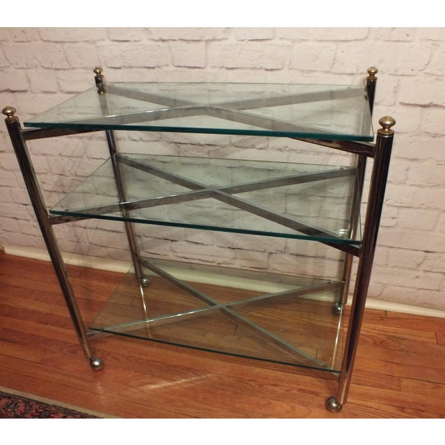 Image of Maison Jansen Style Directoire 3 Tier Rolling Cart