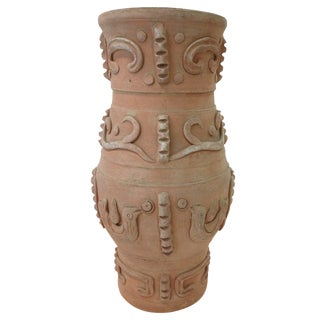 Primitive Clay Vase from Nepal