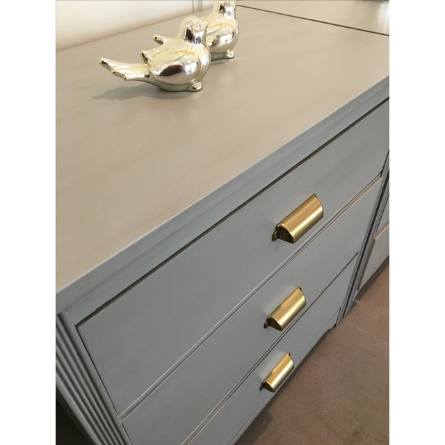 Gray Nightstands - A Pair - Image 4 of 5
