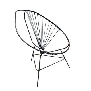 Mid-Century Modern Iron Acapulco Chair