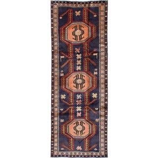 "Vintage Persian Ardabil Rug- 3'6"" x 9'10"""