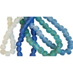 Image of Sea Glass Bead Strands - Set of 4