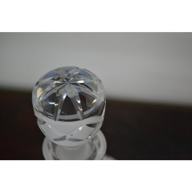 Vintage Crystal Decanter - Image 4 of 4