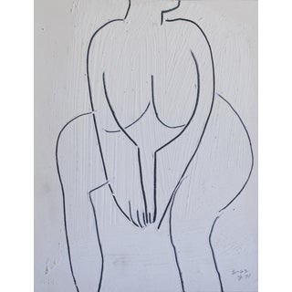 1962 Figurative Drawing by Jack Hooper