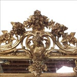 Image of French Louis XVI Style Giltwood Wall Mirror