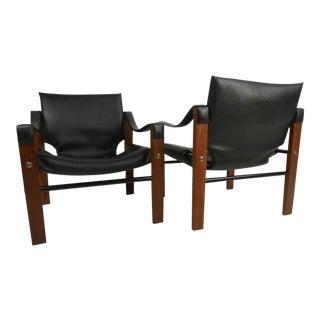 Safari Chair by Maurice Burke for Arkana - a Pair