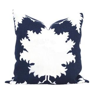 "20"" x 20"" Garden of Persia Blue Decorative Pillow Cover"