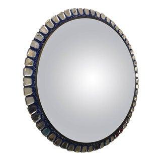 Line Vautrine Style Convex Mirror