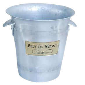Vintage French Brut De Mosny Champagne Bucket
