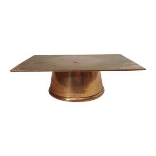 Vintage Brass Display Stand