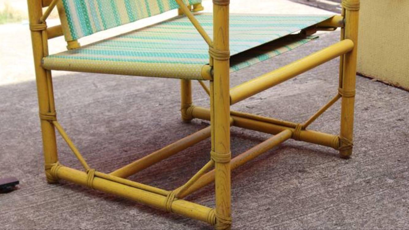 McGuire Furniture Rattan Patio Chairs   A Pair   Image 6 Of 9