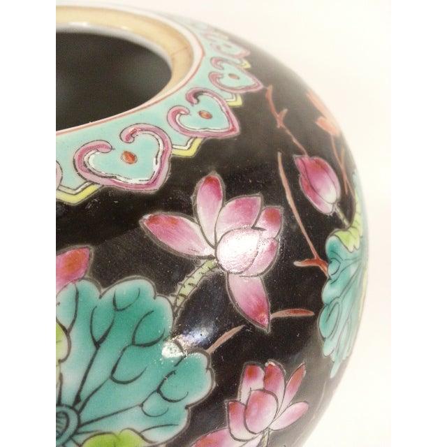 Black Vintage Melon Jars - A Pair - Image 6 of 8