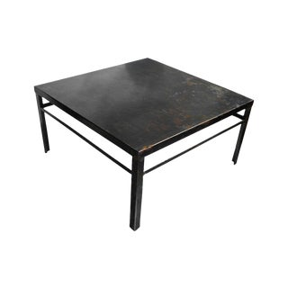 Bremen Zinc Cocktail Table