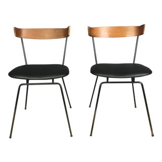 Iron and Wood Chairs by Clifford Pascoe - A Pair