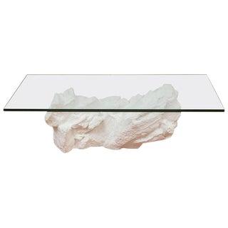 Sirmos White Plaster Rocks Coffee Table