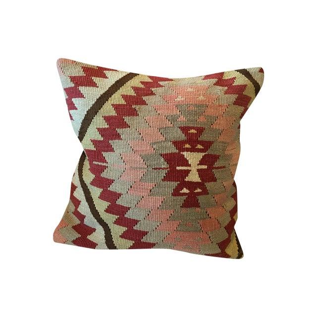 Vintage Kilim Rug Pillow - Image 1 of 6