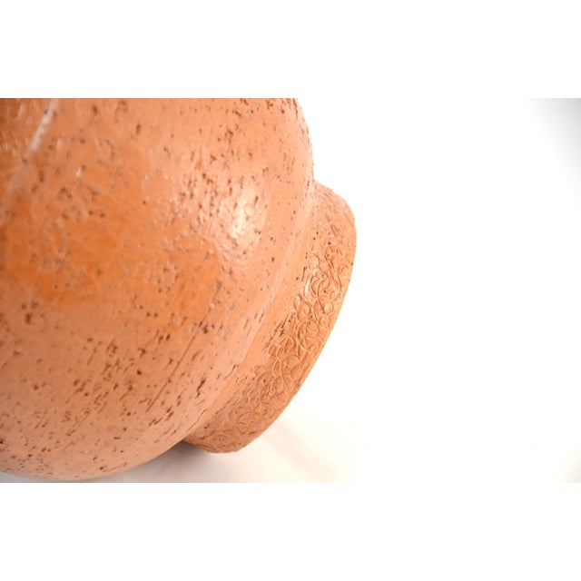 Italian Textured Terracotta Planter - Image 4 of 5