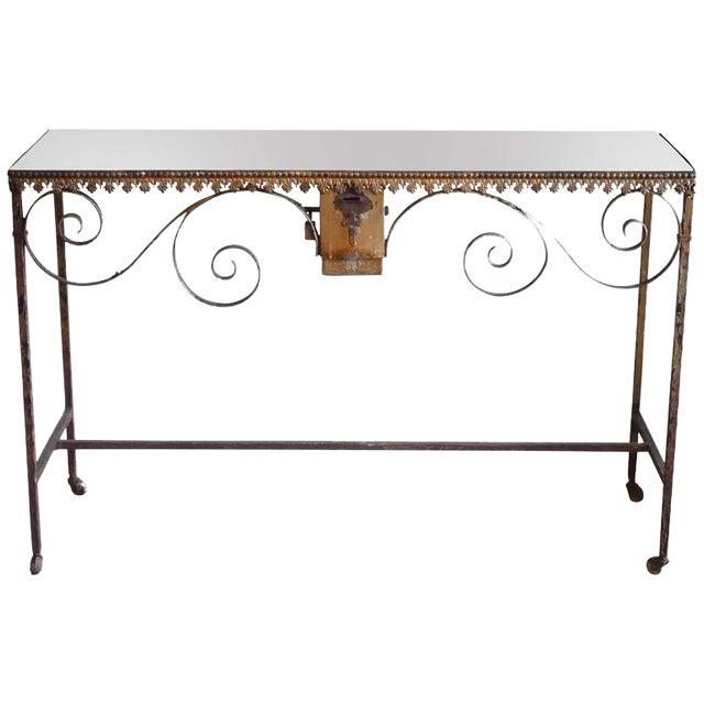 Wrought Iron Church Offerings Console - Image 1 of 7